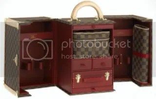 Louis Vuitton Makeup Case designed by Sharon Stone