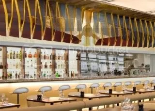 Gordon Ramsey\'s Restaurant at London\'s Heathrow Airport