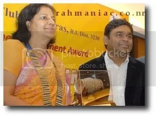 Rotary club honored Rahman