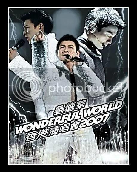 劉德華~Wonderful World 香港演唱會2007 - Get Jetso 著數優惠網