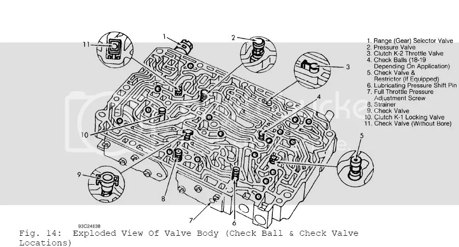 700r4 exploded diagram 2016 dodge ram 2500 radio wiring disassembly of valve body on 722.5 gearbox - mercedes-benz forum
