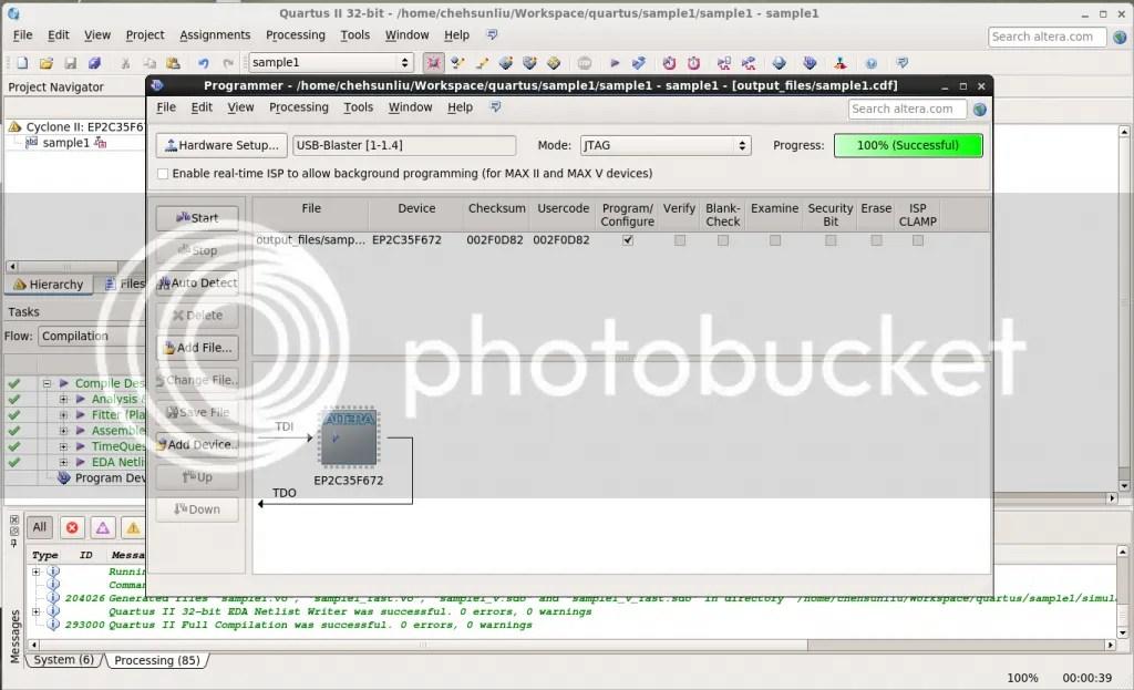 Install Quartus 13 0 SP1 on CentOS 6 4 | chehsunliu