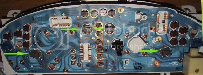 2001 Infiniti I30 Radio Wiring Diagram How To Replace Instrument Cluster Lamps Nissan Forum