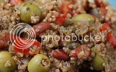 quinoa prato