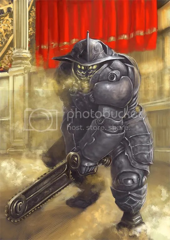 Concept robot gladiador