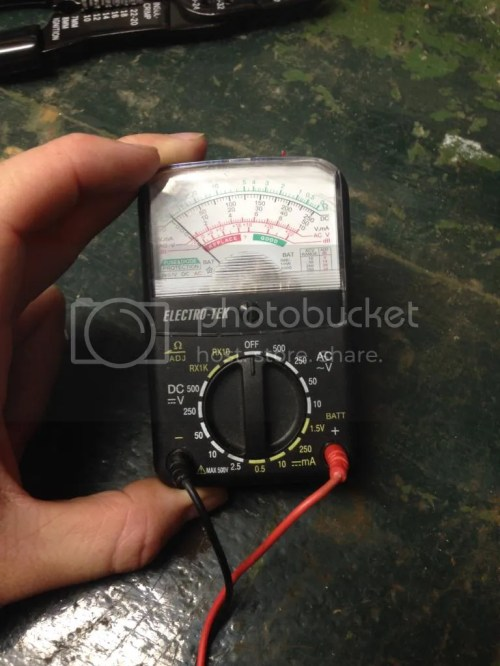 small resolution of this is the multimeter i m using
