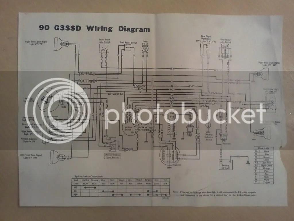 Kawasaki Ke100 Wiring Diagram On Kawasaki 100 Wiring Diagram Get Free