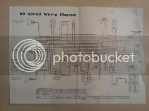 Need wiring diagram for 90cc G3SSA and G3SSD  Kawasaki