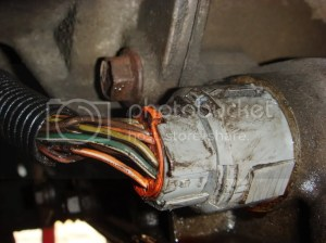 Leaking Tranny Fluid From Wiring Harness Plug What is it