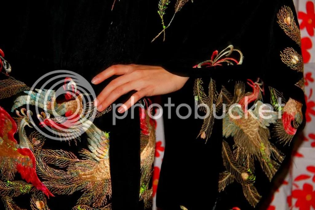 """Muy Marcottage """"Mottainai"""" kimono tailleur"""