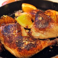 Orange Balsamic Roast Chicken