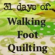 31 Days of Walking Foot Quilting - Petit Design Co.