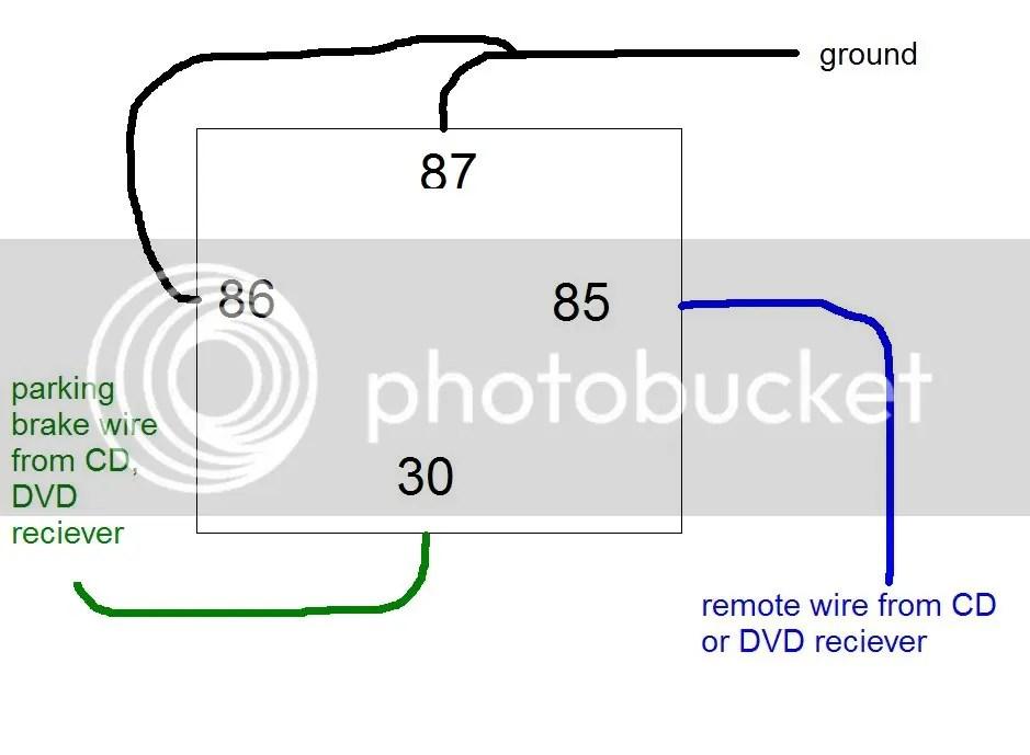 pioneer avh p4000dvd wiring diagram 2 1982 honda goldwing interstate avh-p4000dvd bypass help - car audio avic411.com