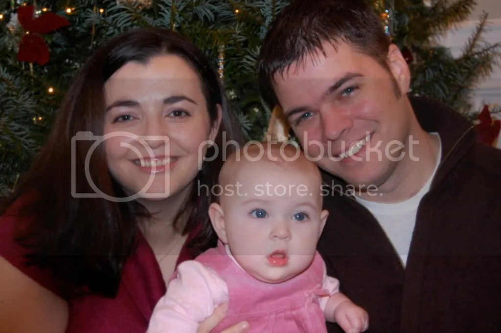 My wife Iratxe, Avery and Myself (l-r) from out Christmas Card Photo