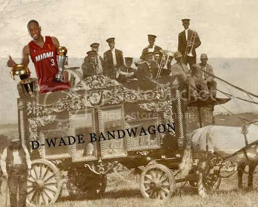 All Aboard! The D-Wade Bandwagon is getting full.