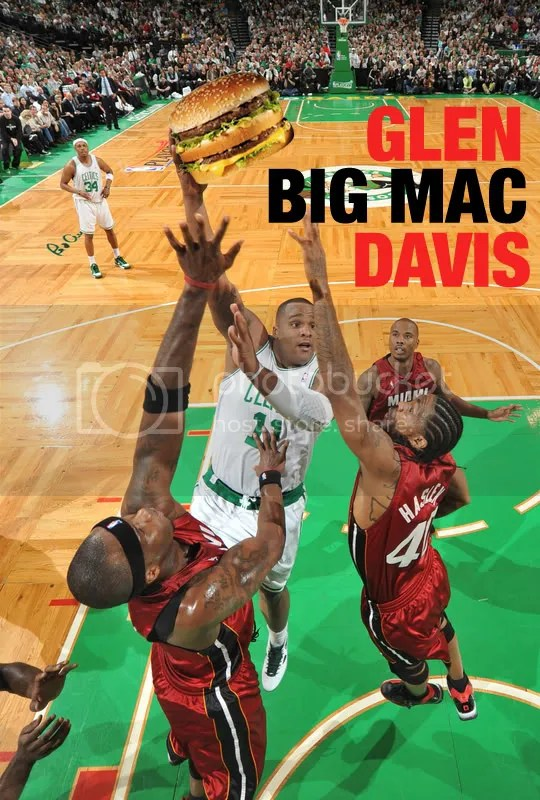 "Glen ""BIG MAC"" Davis!"