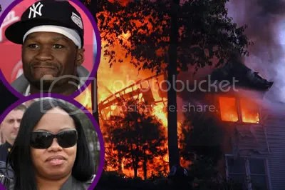 50 Cent House Burns Down