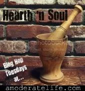 Hearth n' Soul Blog Hop at A Moderate Life