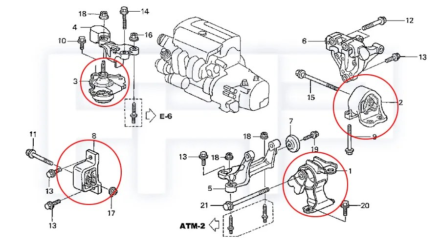 1998 Honda Crv Transmission Diagram, 1998, Free Engine