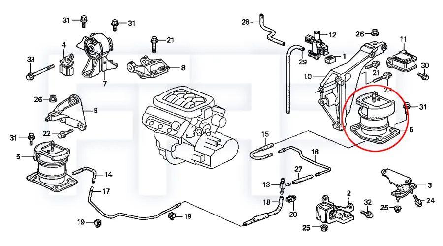 acura 2.3 cl engine diagram