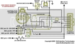 Ford Remote TFI To Holley EFI Wiring Help