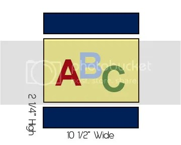 Alphabet Quilt Step 2