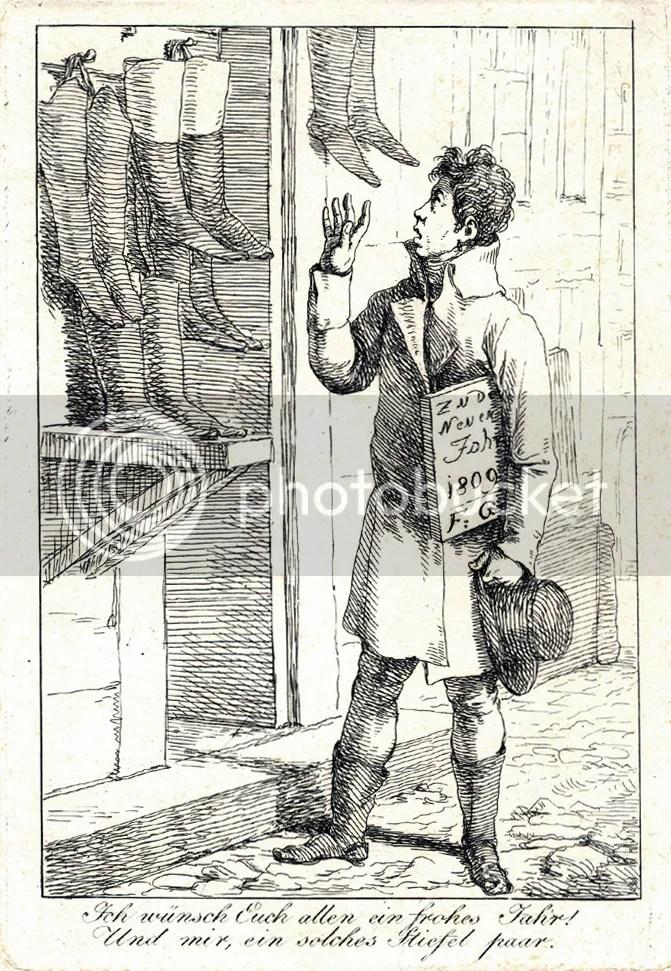 Joseph Bergler, Zu dem neuen Jahr 1809 via Goethezeitportal