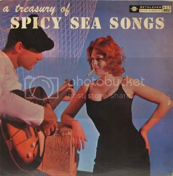 A Treasury of Spicy Sea Songs Cover