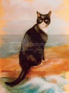 Georgina Shaw Baker, Oscar, the Bismarck's Cat. Creature Comforts on the Oceans