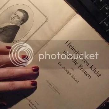 Heinrich von Kleist und die Frauen by Judith