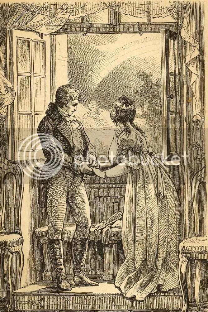 Werther und Lotte, Klopstock