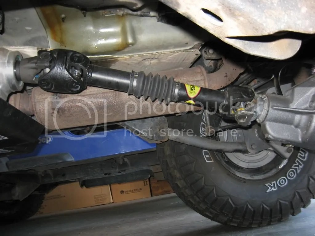 Does my driveshaft angle look OK or  JeepForumcom