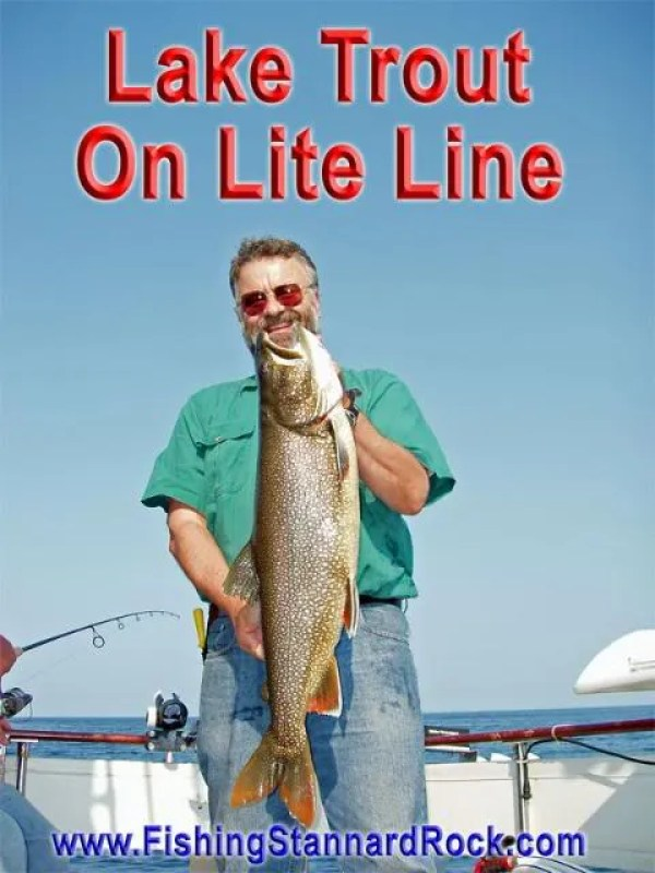 laketroutonliteline Fishing the Rock   Click Below for Much More...
