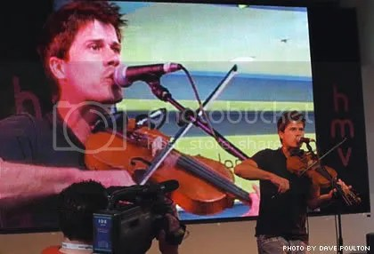 Seth Lakeman performs at HMV Oxford Street
