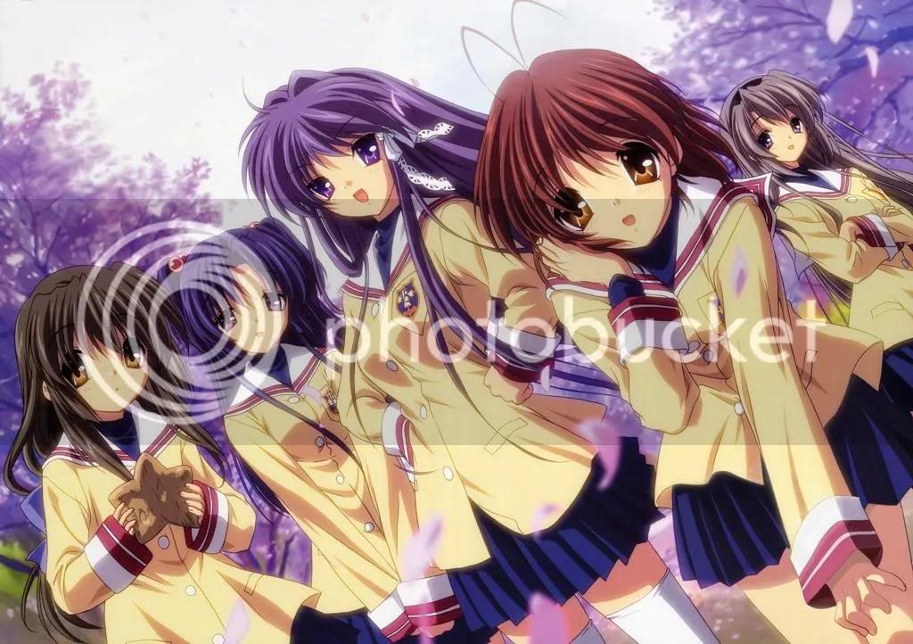 Fuuko, Kotomi, Kyou, Nagisa e Tomoyo