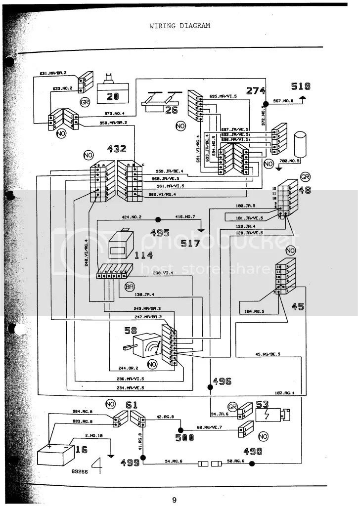 GTA Motor wiring diagram