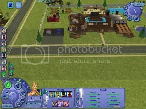 Sims 2 screenshot - wants and fears