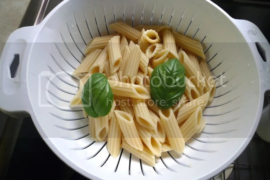 Pasta and Fresh Basil