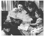 mengajarkan firman pada anak-anak, menjadi teladan bagi anak