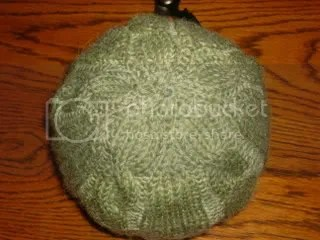 Baby hat from the top