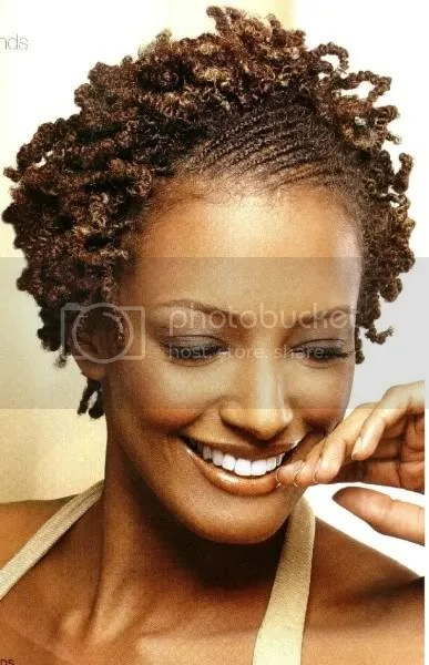 Flat twist w/twist out Pictures, Images and Photos