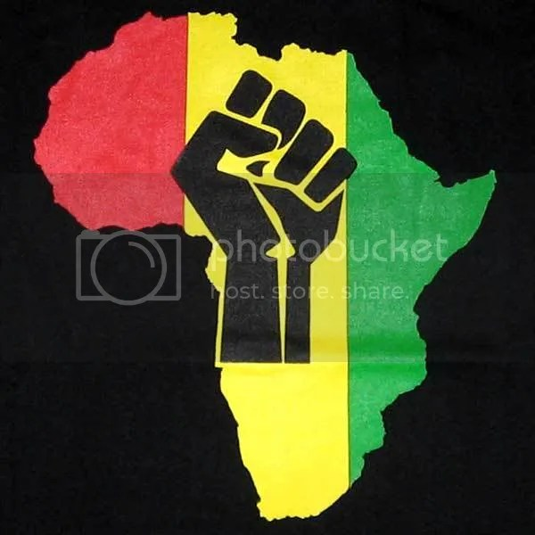 african power fist Pictures, Images and Photos