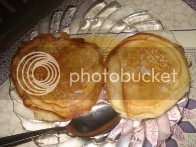 my home made pancake