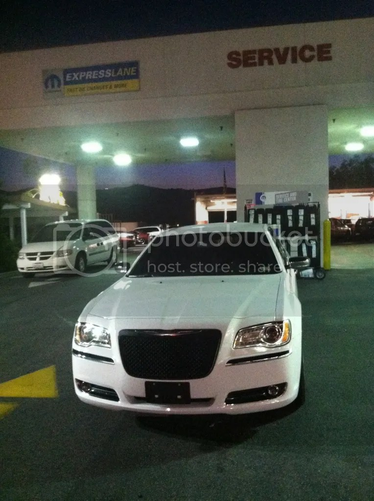 Chrysler 300 Black Grill : chrysler, black, grill, BLACK, FRONT, GRILLE, Installed, Chrysler, Forums