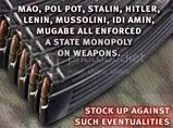Monopoly on Weapons