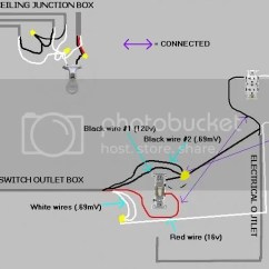 Wiring Diagram Junction Box Light Embraco Compressor How Do I Bypass Switch On An Electrical Outlet Doityourself Com Power Out To The Goes Other Side Of