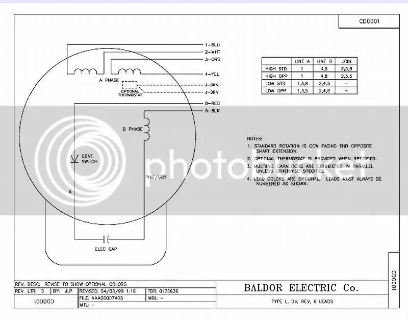 on baldor 3 phase wiring diagram