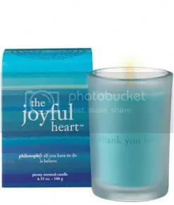Joyful Heart Candle