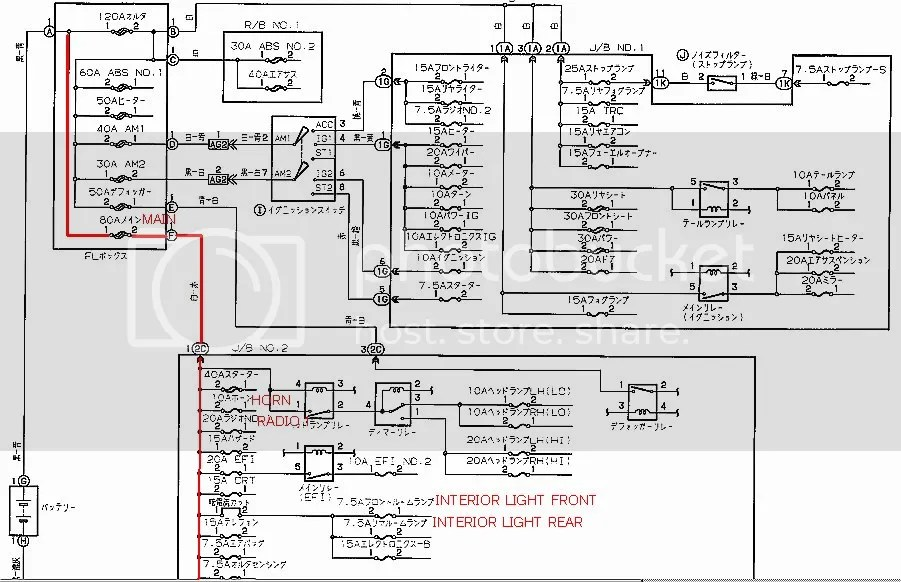 Alternator Wiring Diagram Lexus Diagrams Electrical Pictures
