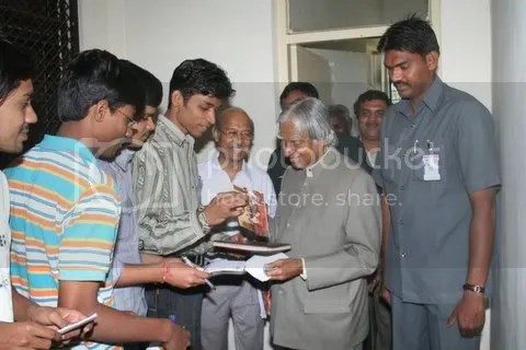 Myself and Dr kalam - 4